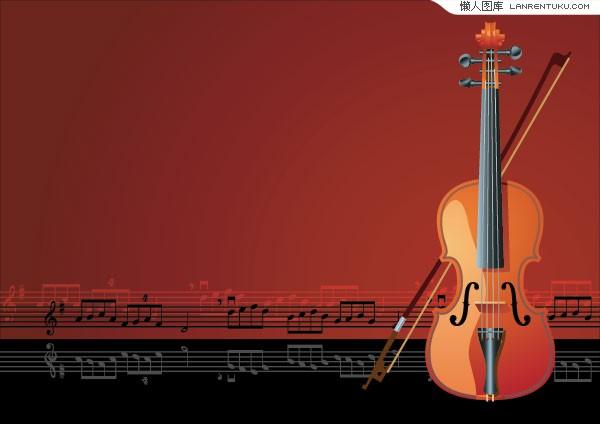 质感小提琴与美妙的音符兴发娱乐手机版登录图片