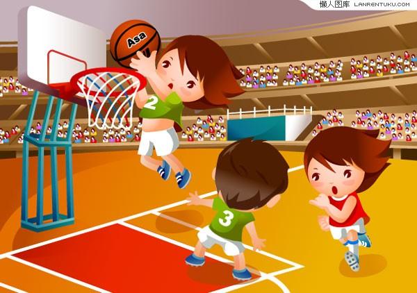 卡通篮球_篮球矢量图__休闲娱乐_生活百科_矢量图库