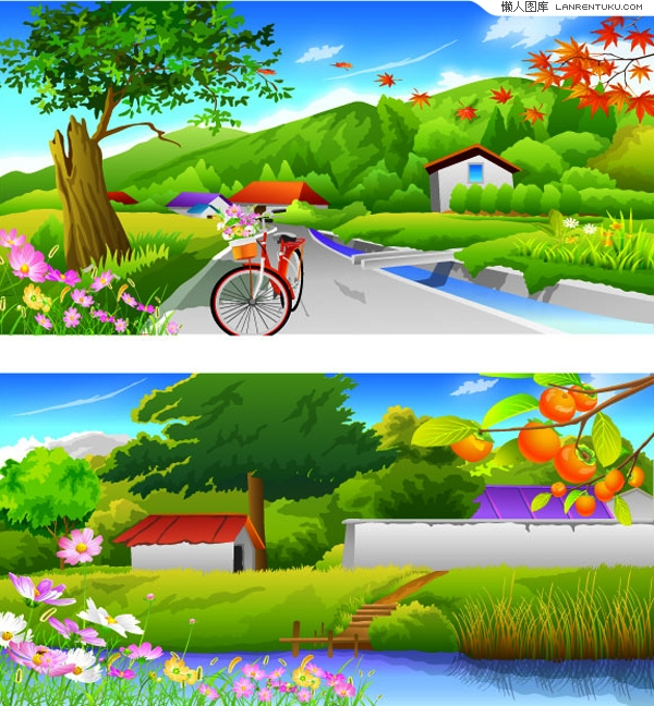描写秋天景物的词语_描写春天的美丽景象-余下全文>_感人网