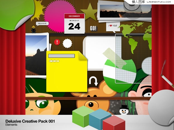 Deluxive Creative web2.0元素合辑