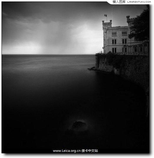 """5.海面的""""气氛""""与影调是黑白摄影中最迷人的一部分"""