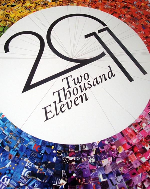 2011年创意日历设计欣赏