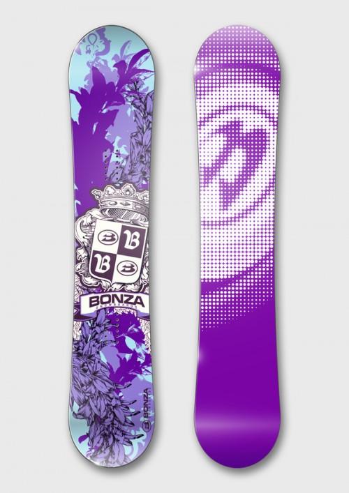 滑雪板设计欣赏
