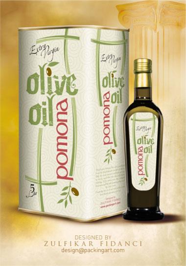 雅致的橄榄油包装设计