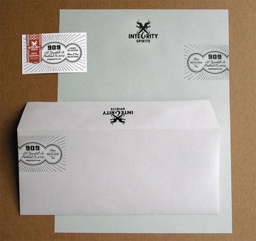 国外多款信笺设计欣赏