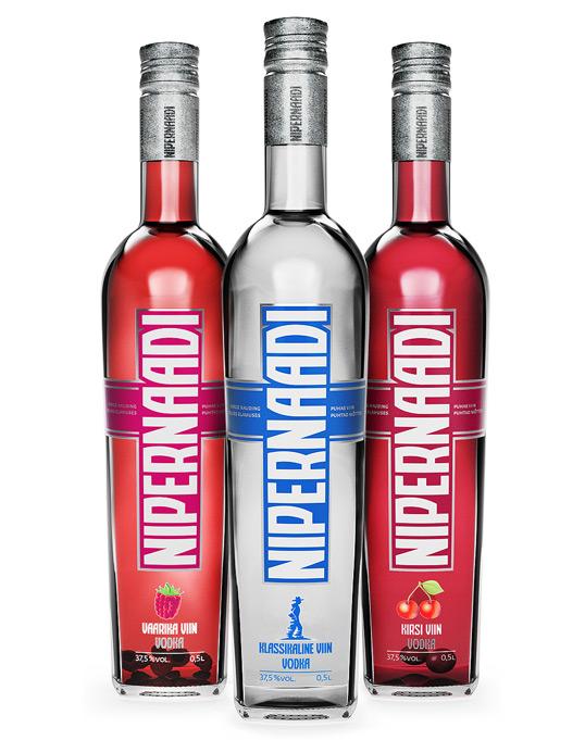 38款色彩艳丽的瓶装产品包装设计欣赏