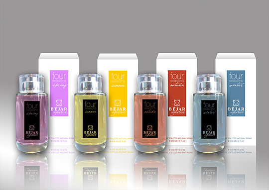 33款香水包装设计欣赏