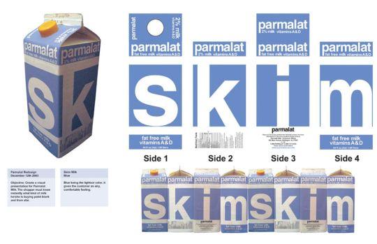 40款漂亮的牛奶纸盒包装设计欣赏
