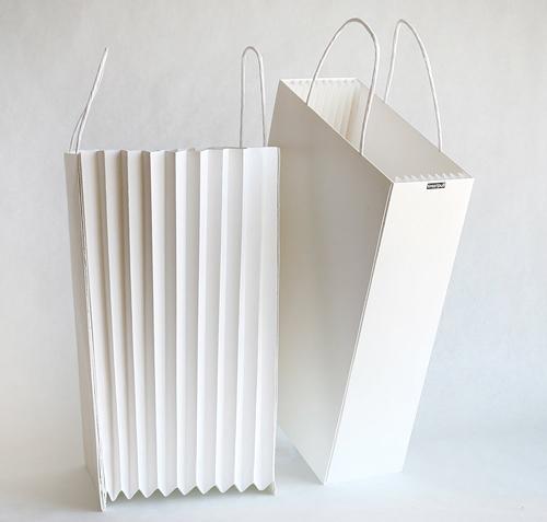 30款纯纸质手提袋包装设计欣赏(3)图片