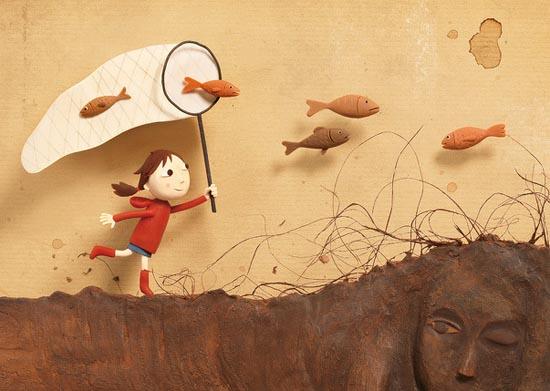 22幅粘土插画作品欣赏