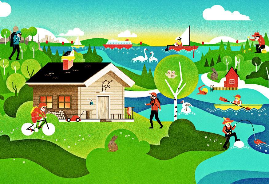 20幅芬兰插画师Vesa Sammalisto绘画作品欣赏