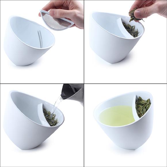 人性化的泡茶杯子设计欣赏