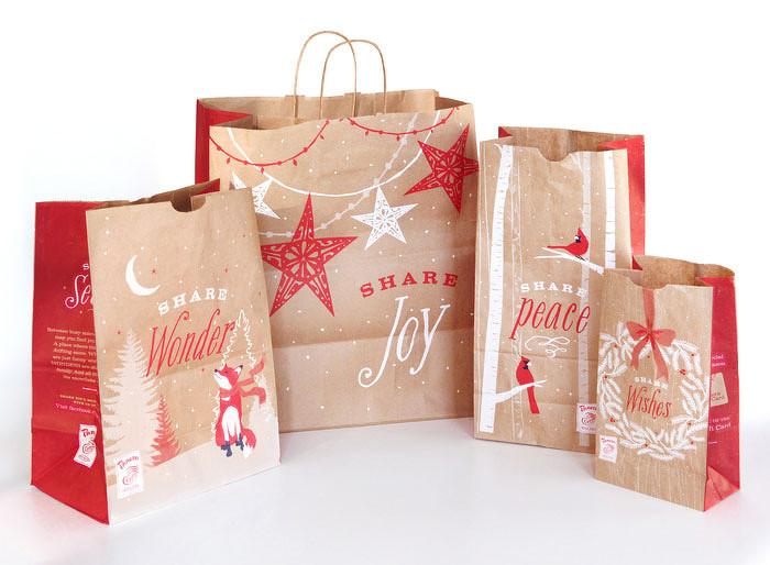 美丽的圣诞节产品包装设计欣赏