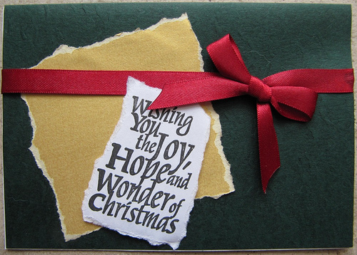 10款漂亮的圣诞贺卡设计欣赏