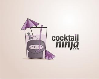 13款鸡尾酒题材标志设计欣赏