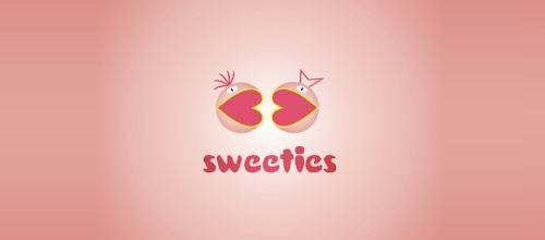 30款粉红色标志设计欣赏