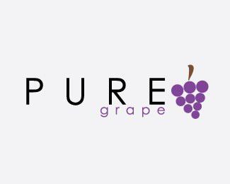 18款梨和葡萄题材标志设计欣赏