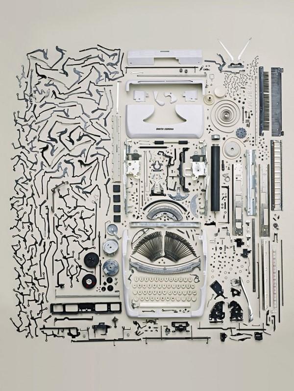 打字机拆解