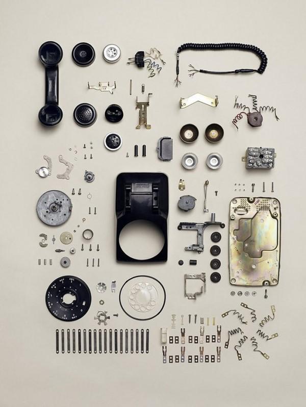 电话机拆解