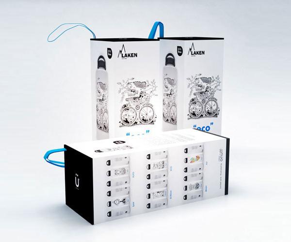 Laken水壶包装设计