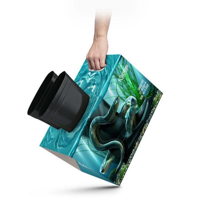 外包装方便提手设计