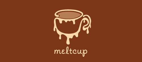 创意咖啡题材标志设计