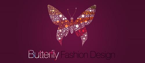 唯美蝴蝶题材标志设计欣赏