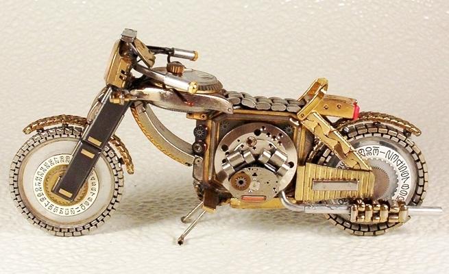 手表改造摩托车