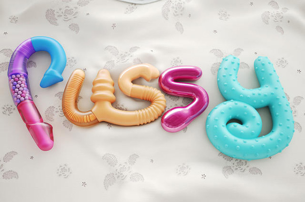 国外创意立体字设计糖果风格