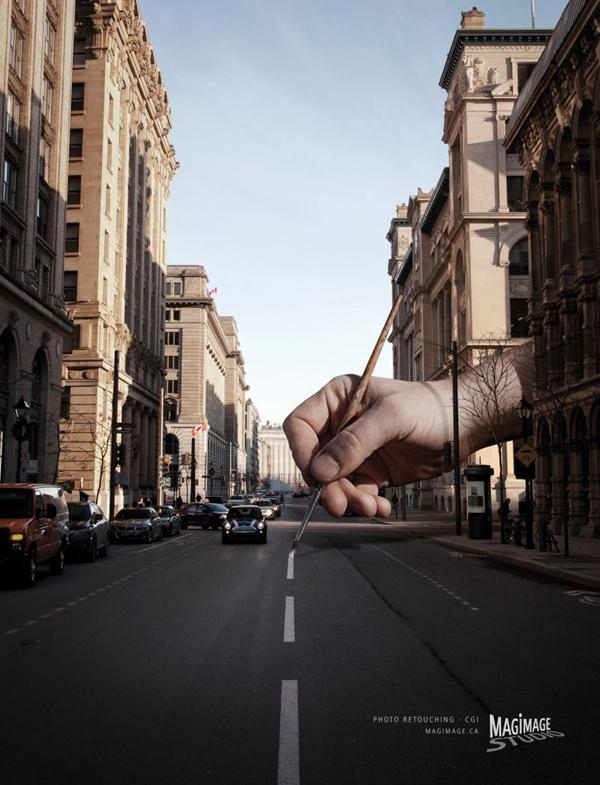 Magimage图像处理软件创意广告