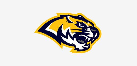 猫科动物标志设计老虎