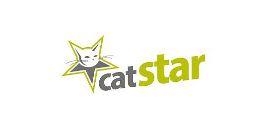 猫科动物标志设计极酷