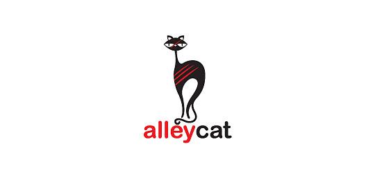22款白底色猫科动物标志设计欣赏(3)