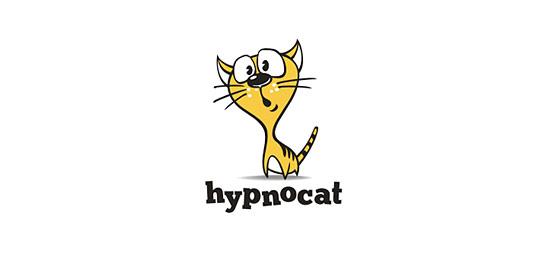 猫科动物标志设计可爱