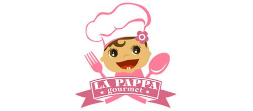 Baby题材标志设计小厨师