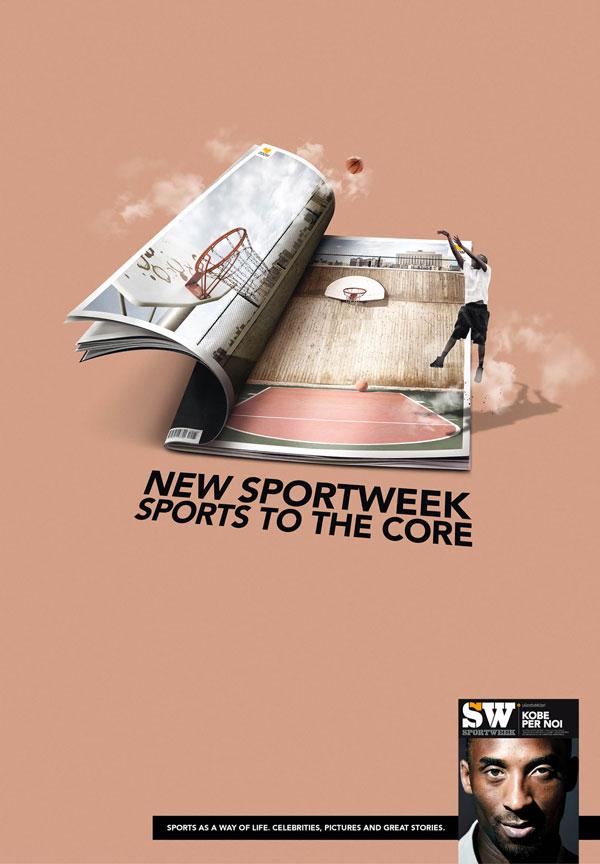 米兰体育报创意广告