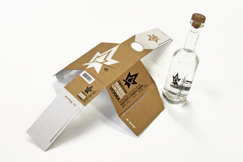 伏特加酒包装设计