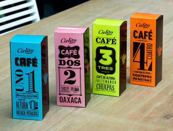 国外咖啡包装