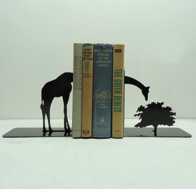 创意书档设计之长颈鹿