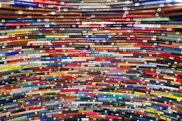 五颜六色的书屋设计