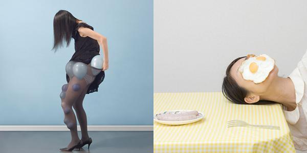 女性摄影作品