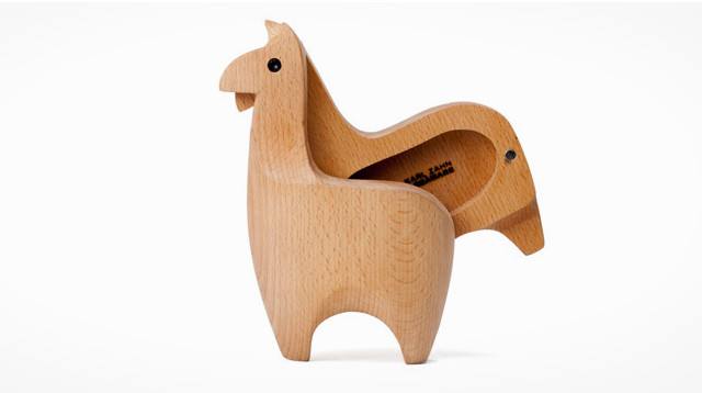 羊驼原木盒子