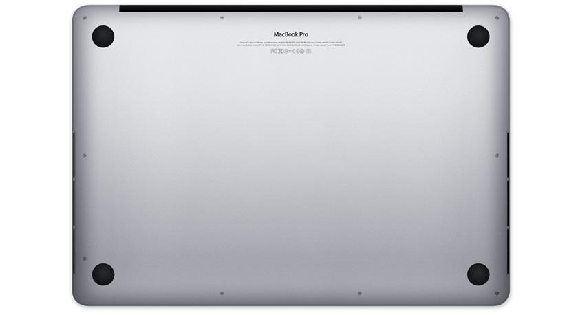 MacBook Pro的背面