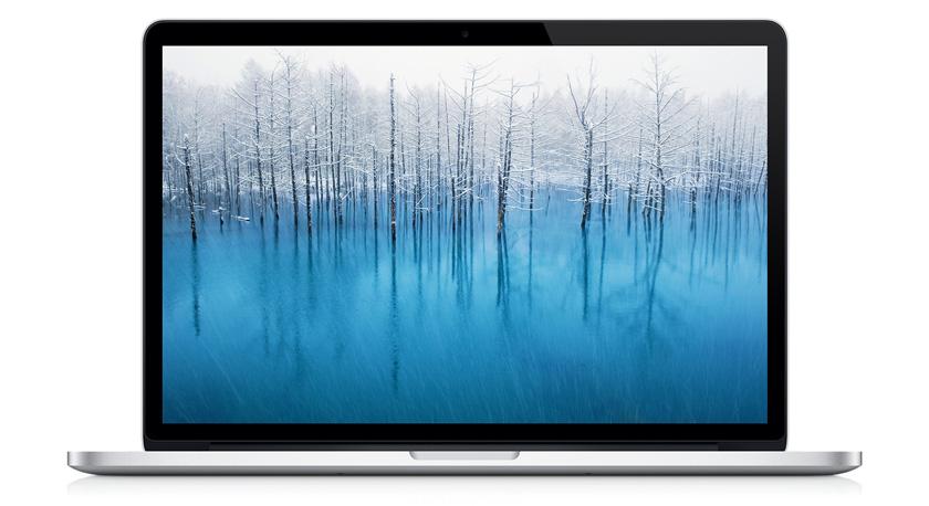 MacBook Pro的正面