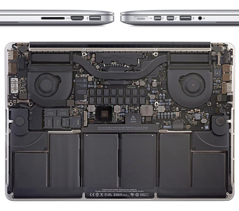 MacBook Pro的内部结构