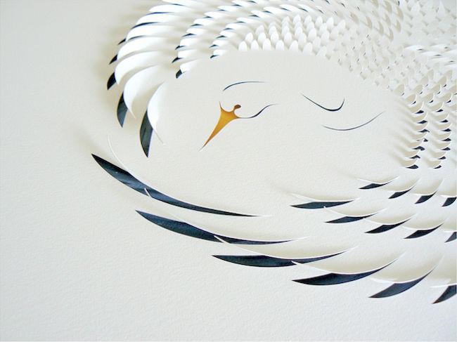 澳大利亚立体剪纸艺术品