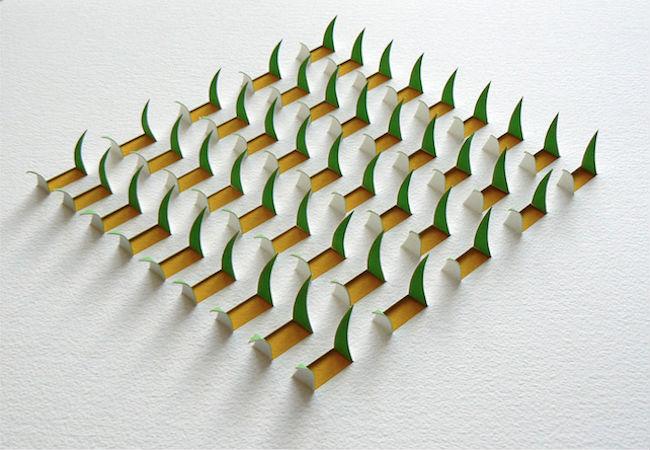 立体剪纸艺术品