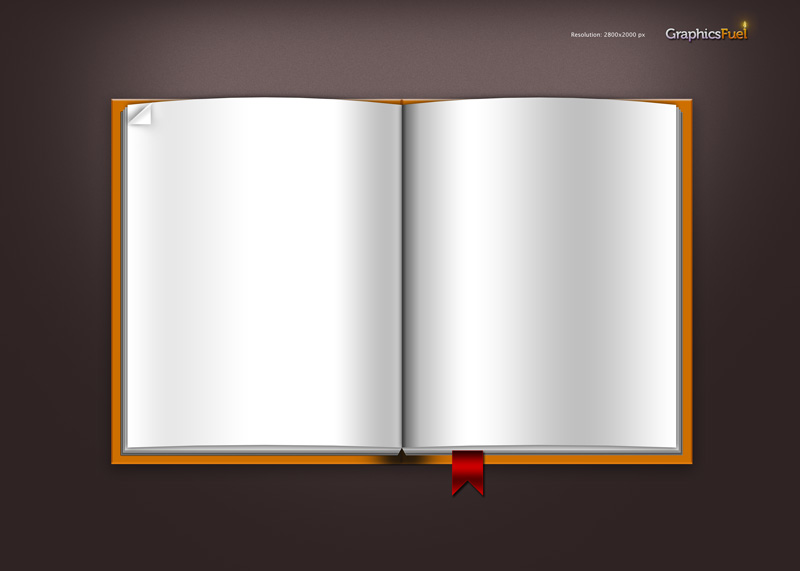 Open Book Cover Template : Open blank book template 筆記本內頁素材 斗圖網