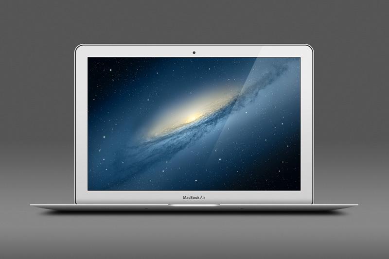 苹果笔记本MacBook AirPSD素材