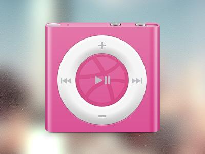 iPod苹果音乐播放器PSD素材
